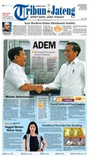 Cover Tribun Jateng 14 Juli 2019