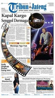 Cover Tribun Jateng 15 Juli 2019