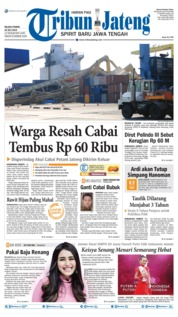 Cover Tribun Jateng 16 Juli 2019