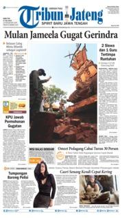 Cover Tribun Jateng 17 Juli 2019