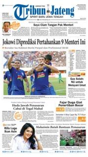Cover Tribun Jateng 18 Juli 2019