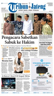 Tribun Jateng Cover 19 July 2019
