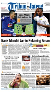 Tribun Jateng Cover 21 July 2019