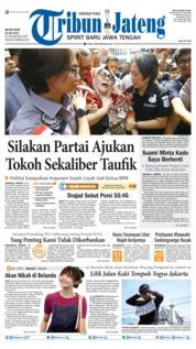 Cover Tribun Jateng 23 Juli 2019