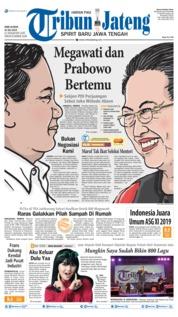 Tribun Jateng Cover 24 July 2019