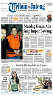 Cover Tribun Jateng 10 Agustus 2019