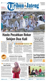Cover Tribun Jateng 11 Agustus 2019
