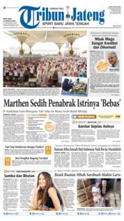 Cover Tribun Jateng 12 Agustus 2019