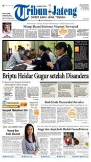 Cover Tribun Jateng 13 Agustus 2019