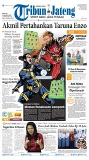 Cover Tribun Jateng 14 Agustus 2019