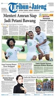 Cover Tribun Jateng 15 Agustus 2019