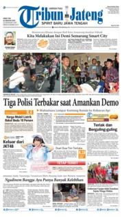Cover Tribun Jateng 16 Agustus 2019