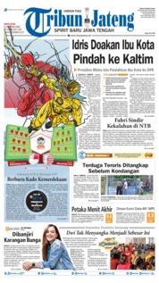 Cover Tribun Jateng 17 Agustus 2019