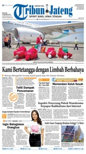 Tribun Jateng Cover 19 August 2019