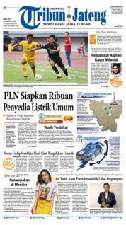 Cover Tribun Jateng 21 Agustus 2019