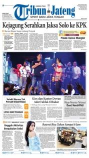 Tribun Jateng Cover 22 August 2019