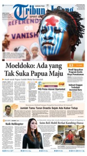 Tribun Jateng Cover 23 August 2019