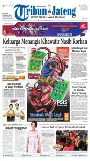 Tribun Jateng Cover 24 August 2019