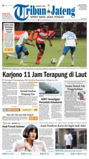 Tribun Jateng Cover 25 August 2019