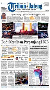 Cover Tribun Jateng 02 September 2019