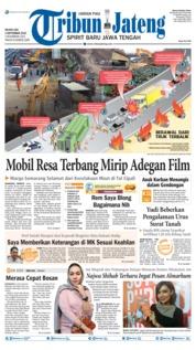 Cover Tribun Jateng 03 September 2019