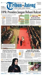 Cover Tribun Jateng 04 September 2019