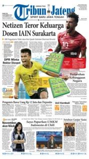 Cover Tribun Jateng 05 September 2019