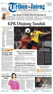 Cover Tribun Jateng 06 September 2019