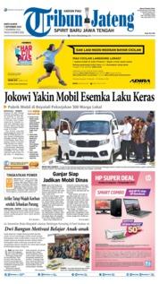 Cover Tribun Jateng 07 September 2019