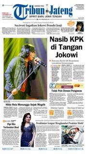 Cover Tribun Jateng 08 September 2019