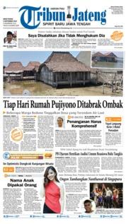 Cover Tribun Jateng 09 September 2019