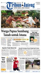 Tribun Jateng Cover 11 September 2019