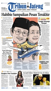 Cover Tribun Jateng 12 September 2019