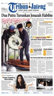 Tribun Jateng Cover 13 September 2019