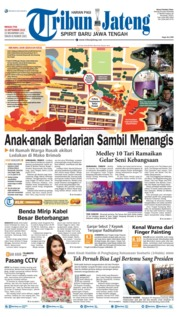 Tribun Jateng Cover 15 September 2019