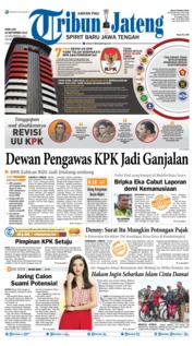 Tribun Jateng Cover 18 September 2019