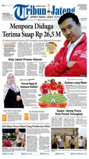 Tribun Jateng Cover 19 September 2019