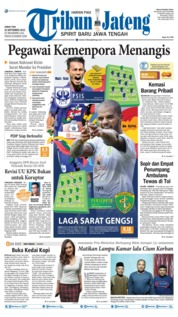 Tribun Jateng Cover 20 September 2019