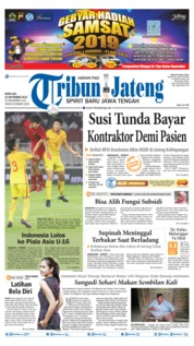Cover Tribun Jateng 23 September 2019