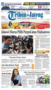 Tribun Jateng Cover 05 October 2019