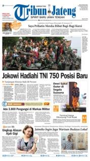 Tribun Jateng Cover 06 October 2019