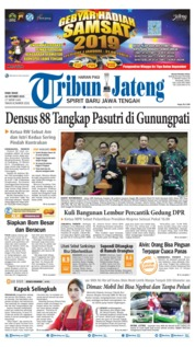 Tribun Jateng Cover 16 October 2019