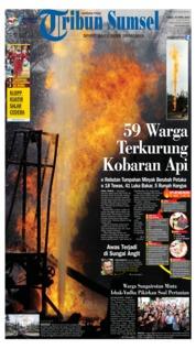 Cover Tribun Sumsel 26 April 2018
