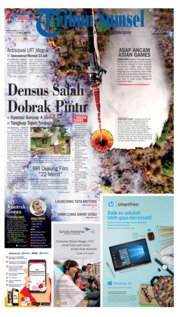 Tribun Sumsel Cover 20 July 2018