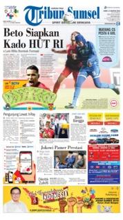 Cover Tribun Sumsel 17 Agustus 2018