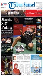 Cover Tribun Sumsel 24 September 2018
