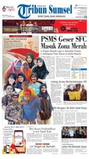 Cover Tribun Sumsel 10 November 2018