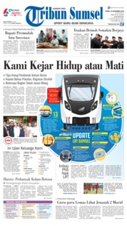 Cover Tribun Sumsel 15 November 2018