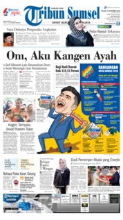 Cover Tribun Sumsel 20 November 2018