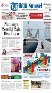 Cover Tribun Sumsel 21 November 2018